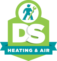 DS Heating & Air Logo